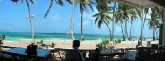 Vista desde el cafe del hotel Casablanca