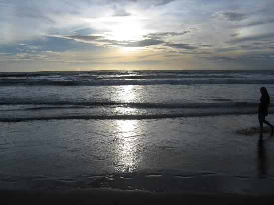 Hotel Lusa: Sonnenuntergang Strand ca. 18.30 Uhr Ortszeit