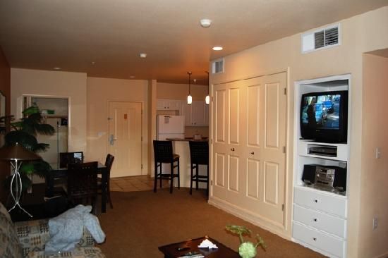 WorldMark Las Vegas-Boulevard: our apartment - view 3