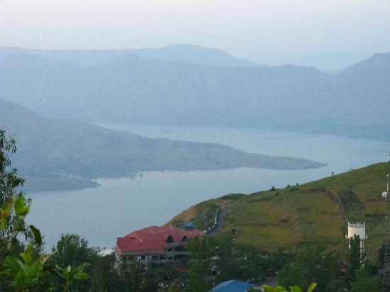 Panchgani, Inde : A bend in the river