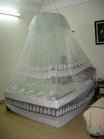 Hai Au Boutique hotel and spa: Great Mosquito Net
