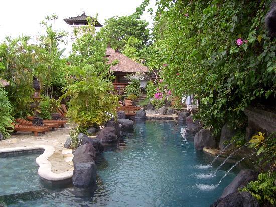 Poppies Bali : piscine2