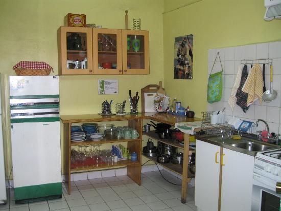 Ecohostel Chile: Kitchen