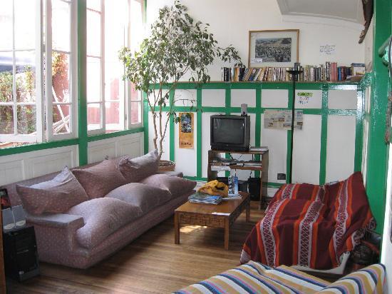 Ecohostel Chile: Lounge