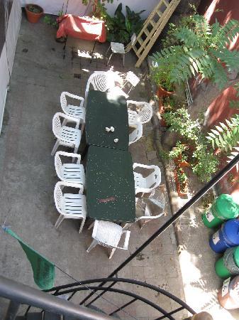 Ecohostel Chile: Terrace