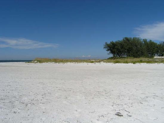 Holmes Beach, Floride : Miles of sandy beach