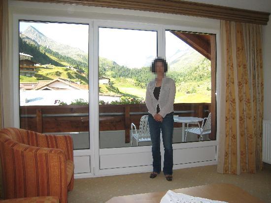 Hotel Wiesental: 広い窓