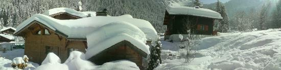 Chilly Powder: Chalet is on left, trully fantastic
