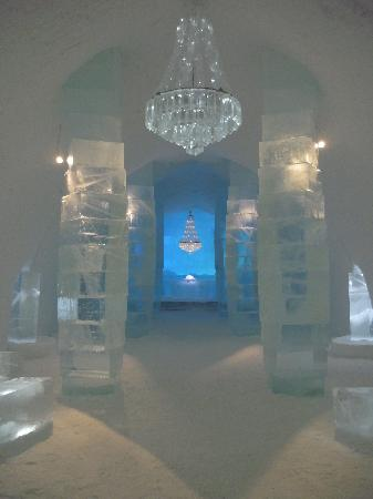 Icehotel: The Main Hall