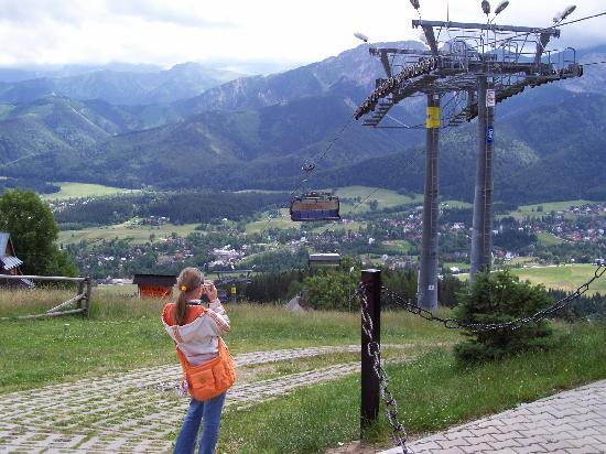 Pensjonat Tuberoza: Top of the lift