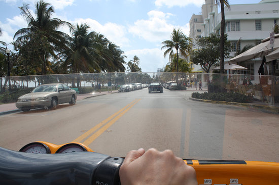 GoCar Tours Miami: Go car view