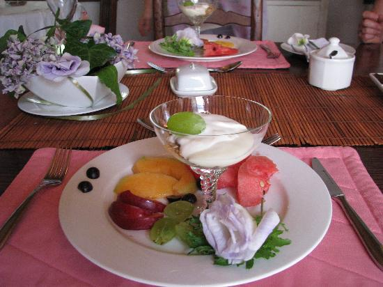 Moolmanshof Bed & Breakfast : Breakfast