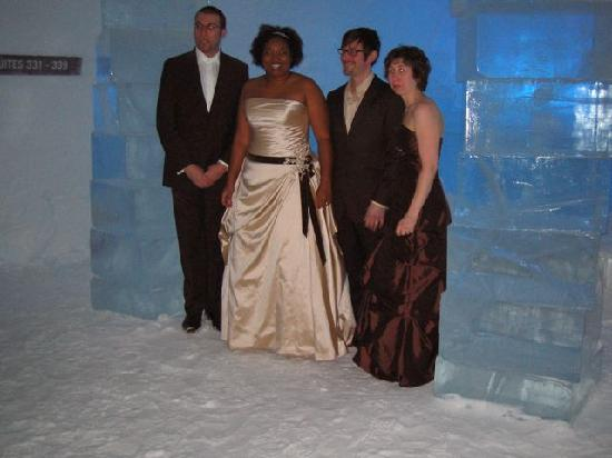 Icehotel : wedding day