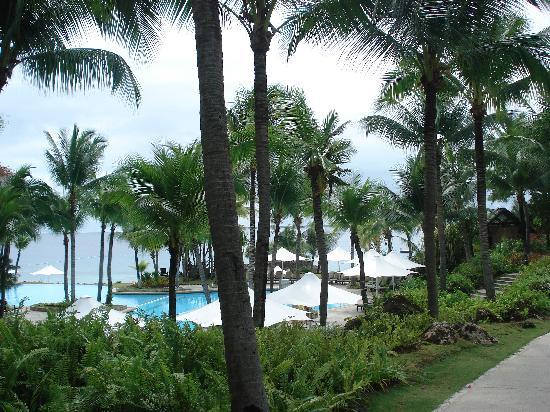 Shangri-La's Mactan Resort & Spa: infinity pool