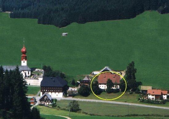 Der Kirnerhof: The Kirnerhof (circled)