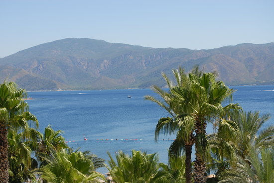 Icmeler, Turkey: view from room 346 -one of the best for view