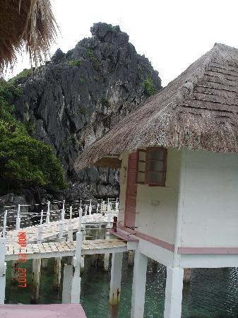 El Nido Resorts Apulit Island: 水上コテージ