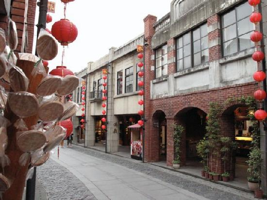 Yilan, Taïwan : National Folk Art Campus: historic street