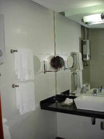 Ritz Plaza Hotel Leblon : Bathroom