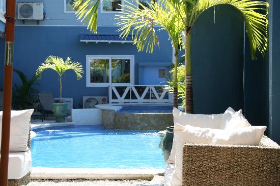 Hotel Playa Carmen: patio and pool