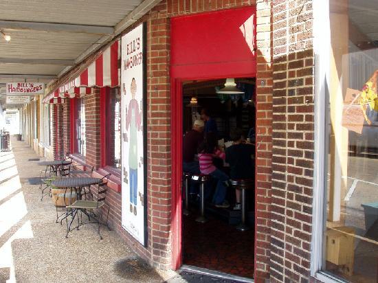 Bill's Hamburgers on Main St.