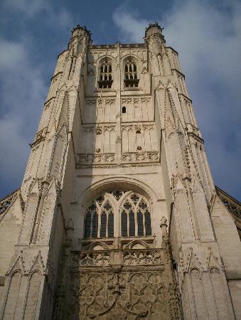 Saint-Omer Cathedral : Cathedrale von Saint Omer