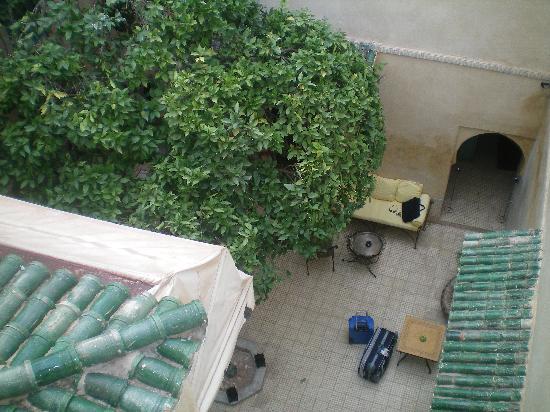 Dar Marhaba: Patio del Riad