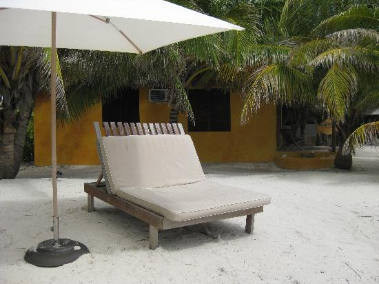 Matachica Resort & Spa: Lots of places to relax both in the sun and shade