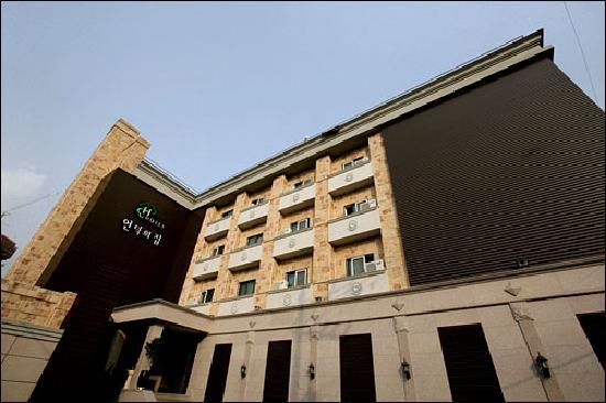 Hill House Hotel: ホテルの外観