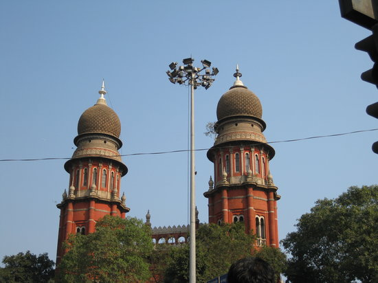Chennai (Madras), Indien: High court