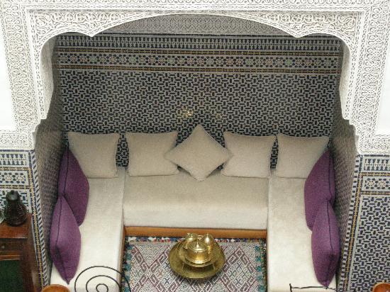 Riad La Cle de Fes: le plus bel endroit pour un thé à la menthe