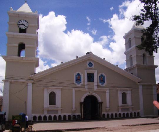 La Esperanza, Honduras: Iglesia de Intibuca