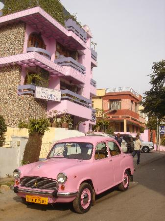 Hotel Pearl Palace: pink and hot