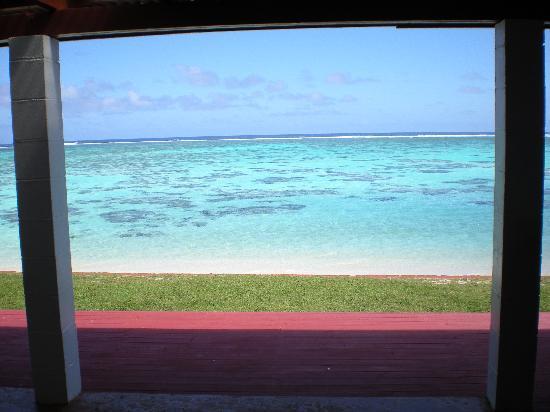 Main Islander On The Beach Holiday Properties: From the back door of Main Islander