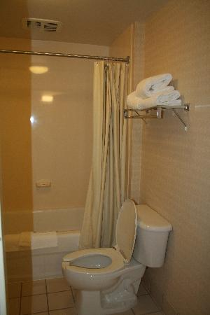 SpringHill Suites Manchester-Boston Regional Airport : bathroom