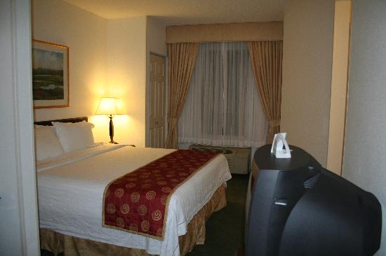 SpringHill Suites Manchester-Boston Regional Airport: sleeping area