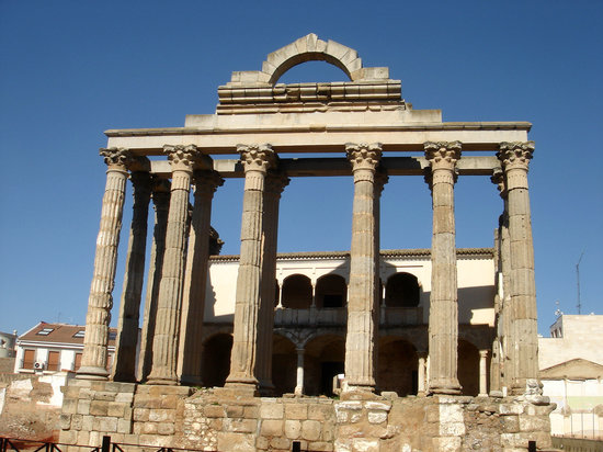 Μέριδα, Ισπανία: Roman Temple of Diana, Merida, Spain
