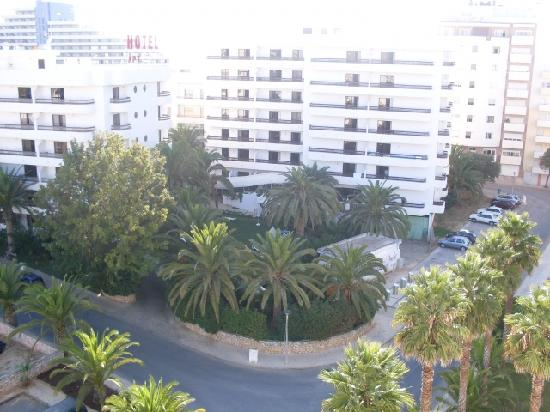 Hotel Mirachoro Albufeira : View from our apartment