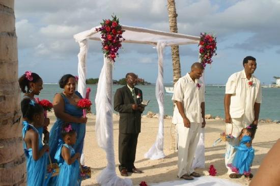 Hotel Riu Montego Bay Ceremony Site West Beach