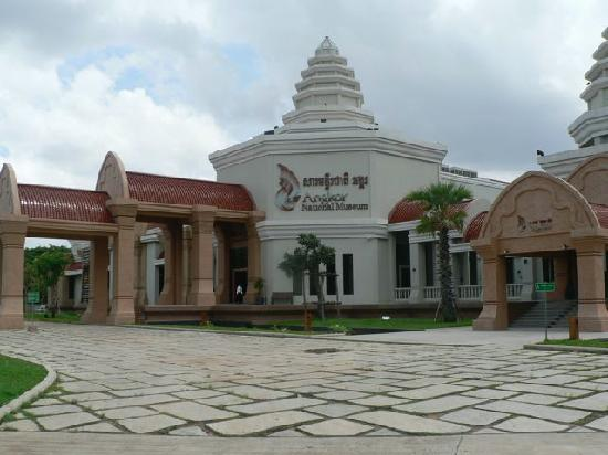 Siem Reap, Cambodia: Museum with 1 000 buddas