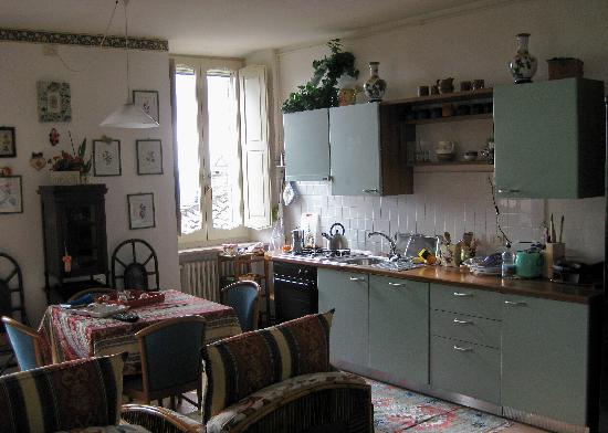 Palazzo Minciotti: Kitchen/diner at Santa Rosa apartment