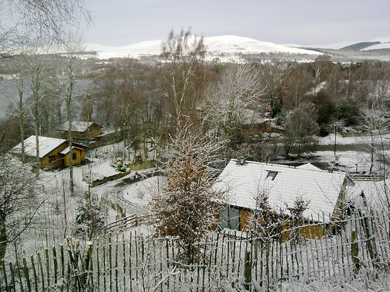 Loch Insh Watersports: Loch insh in the snow