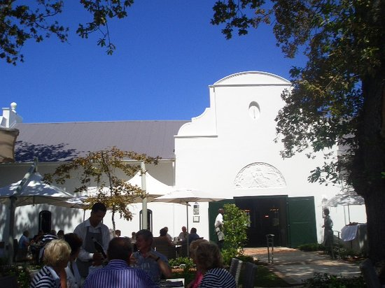 Catharina's Restaurant at Steenberg: The original Winery building dated 1685