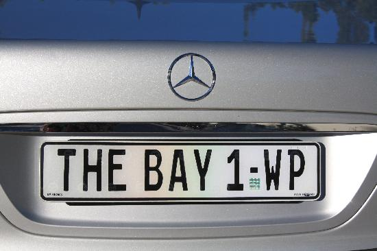 The Bay Hotel: the hotel's limousine