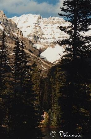 Lake O'Hara Campground: Notre Log Cabine pour une semaine.