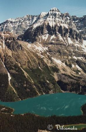 Lake O'Hara Campground: Une autre mais prise en face à Odaray Granview.
