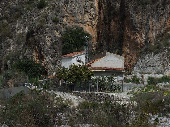 Hostal Lorca: Impressive scenery