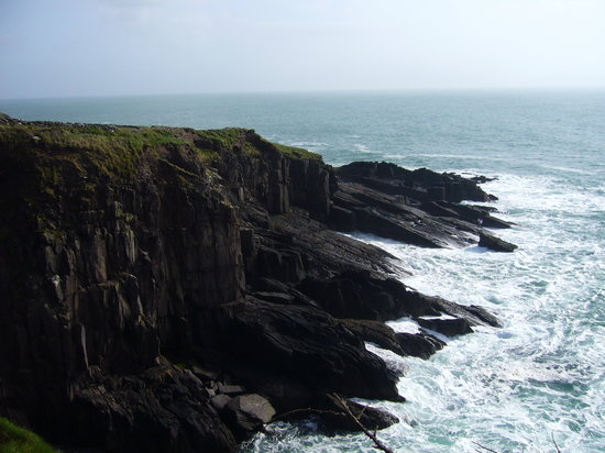 Дингл, Ирландия: Dingle peninsula coastline