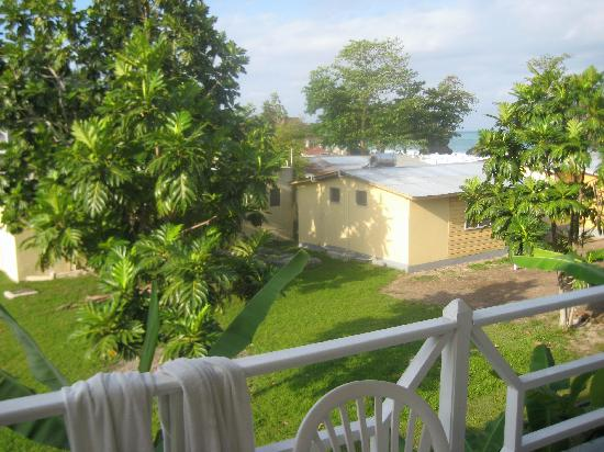 Shields Negril Villas: View From 2 Bedroom Balcony