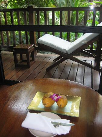 Belmond La Résidence d'Angkor: Welcome Fruit